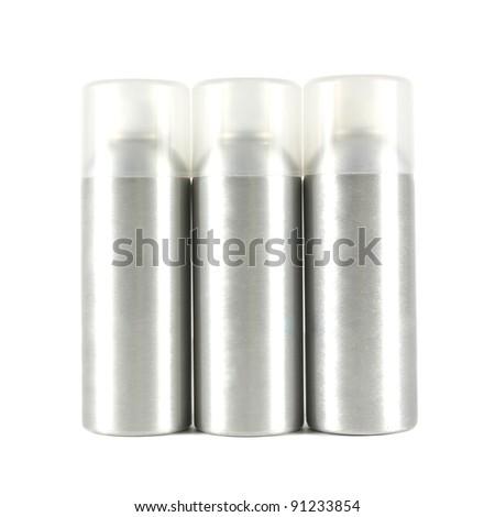 Studio shot of spray can - stock photo