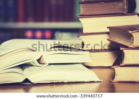 Studying. - stock photo