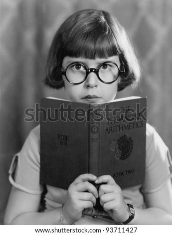 STUDYING HARD - stock photo