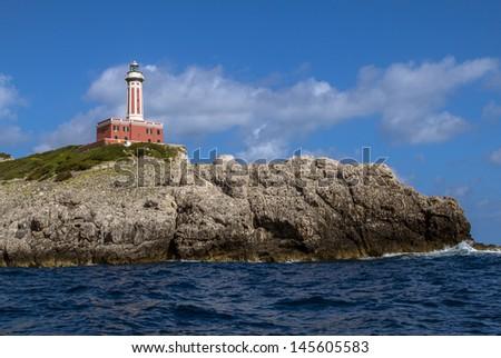 Stunning Capri island - stock photo