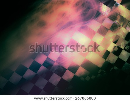 """Stylish abstract background with iridescent highlights, topics close to racing and speed. Grungy texture, is """"dirty"""" and some """"graininess"""" - stock photo"""