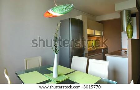 Stylish living - stock photo