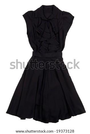 Stylish woman dress - stock photo
