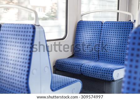 subway in Hamburg, Germany - stock photo