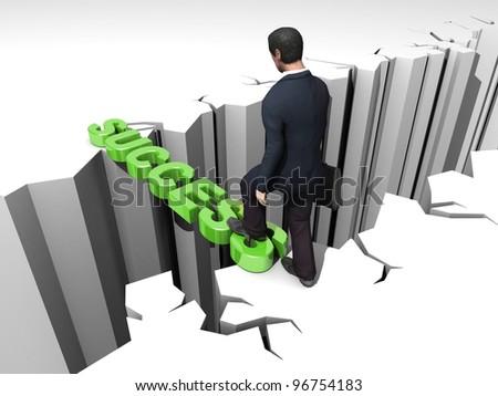 Success - stock photo
