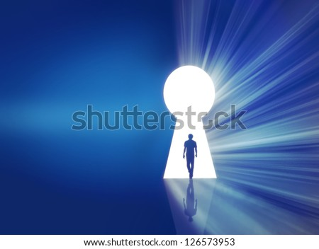 success concept background - stock photo