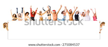 Success Concept Isolated over White  - stock photo