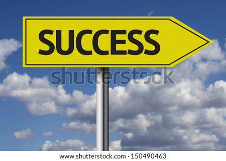 Success creative sign - stock photo