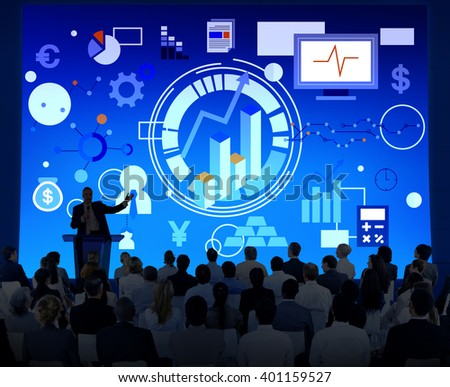 Success Goals Analysis Corporate Business Concept - stock photo