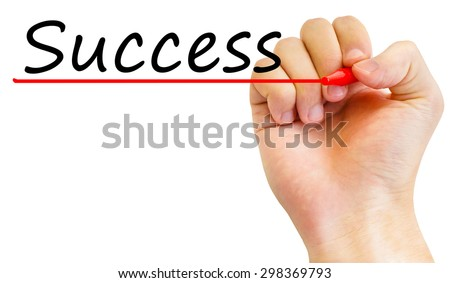 success in business - stock photo