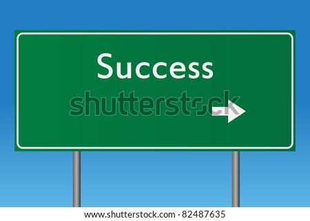 Success Sign - stock photo
