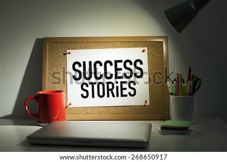 Success Stories - stock photo