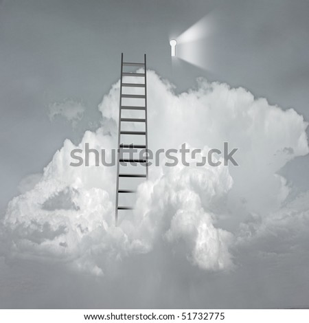 Success Surreal - stock photo