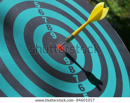 success target concept - stock photo