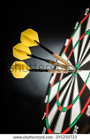 Success, Target, Dart. - stock photo