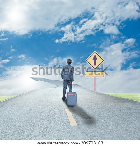 success way - stock photo