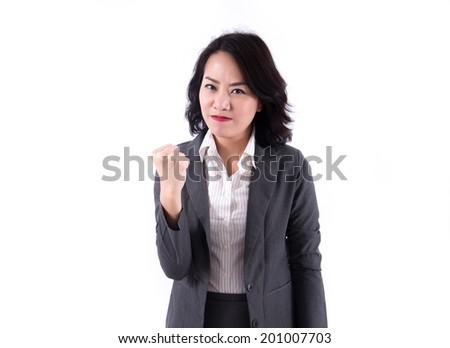 Successful  business woman - stock photo