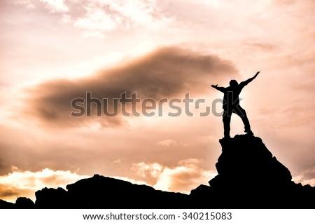 successful & confident - stock photo
