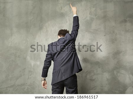 Successful man - stock photo