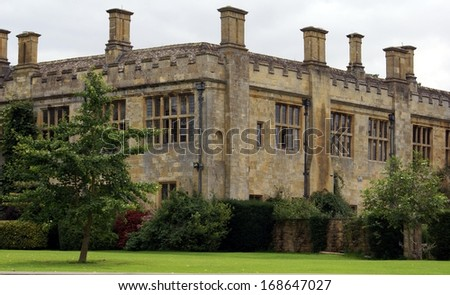 Sudeley Castle, Winchcombe, Cheltenham, England - stock photo