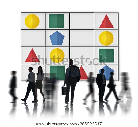 Sudoku Puzzle Problem Solving Leisure Games Concept - stock photo