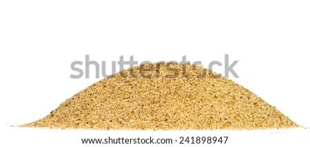 Sugar crystals macro - stock photo