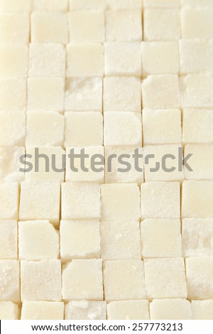 Sugar cube background - stock photo