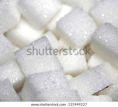 sugar cube texture - stock photo