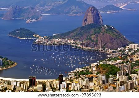 Sugar Loaf. Rio de Janeiro - stock photo
