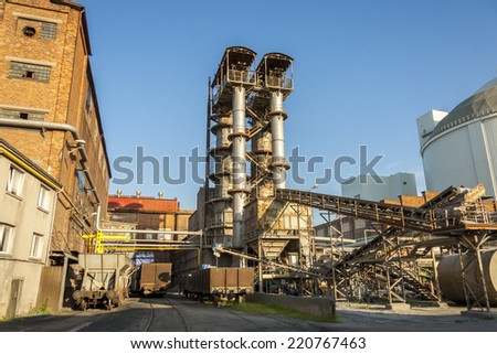 Sugar refinery. - stock photo