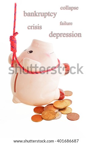 suicide of piggybank, 