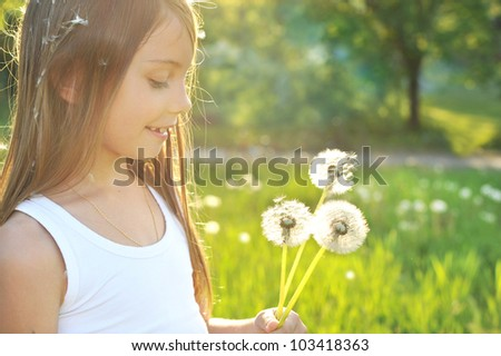 Summer dreams - stock photo