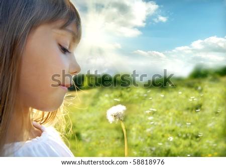 Summer dreams - stock photo