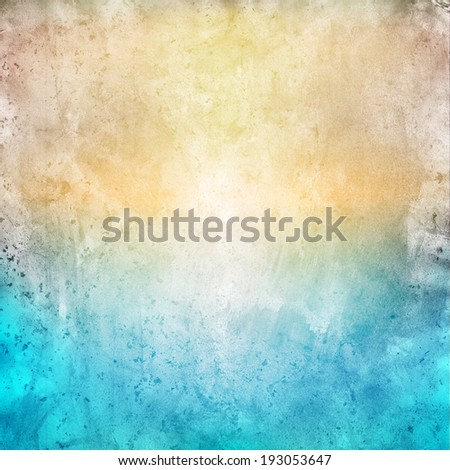 Summer grunge background - stock photo