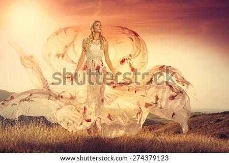Summer queen - stock photo