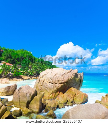 Summer Seascape Ocean  - stock photo