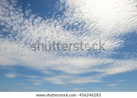 Summer sky - stock photo