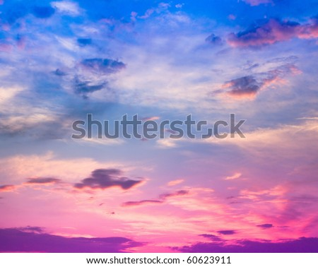 Summer Sun Aftertaste - stock photo
