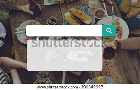 Summer Vacation Holiday Web Search Concept - stock photo