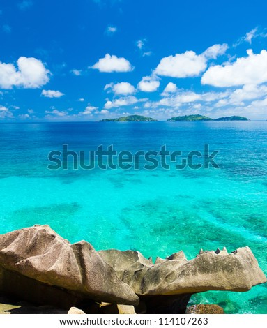 Summertime Dream Bay - stock photo
