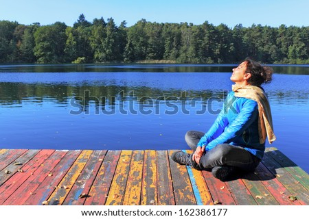 Sun Bathing - stock photo