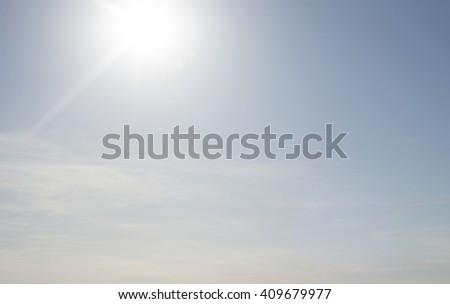 sun light - stock photo