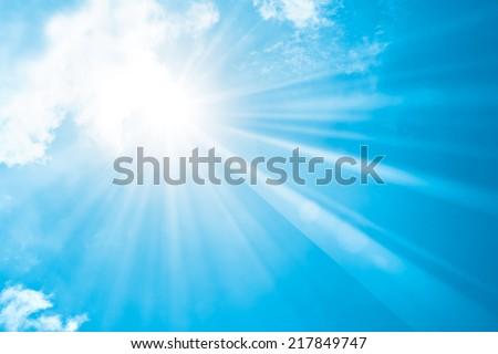 Sun Shine - stock photo