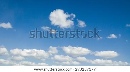 sun sky clouds - stock photo