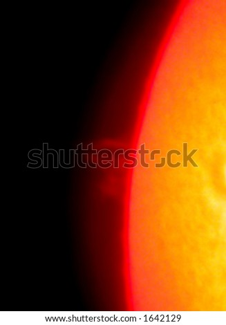 Sunburst - stock photo