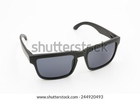 Sunglasses eyewear  on white background - stock photo
