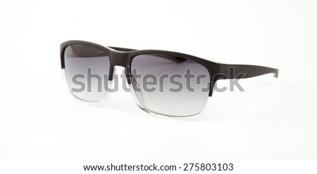 Sunglasses. Isolated on white background - stock photo