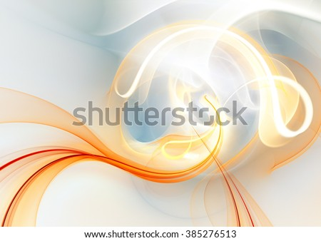 Sunlight. Abstract beautiful shiny background. Soft pattern with lighting effect. Fractal artwork for creative graphic design - stock photo