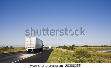 Sunlight Projected on the road - stock photo
