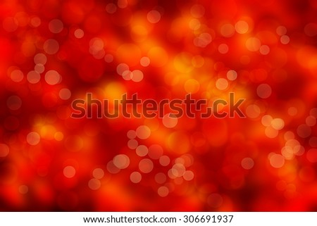 Sunny abstract autumn nature background, selective focus - stock photo